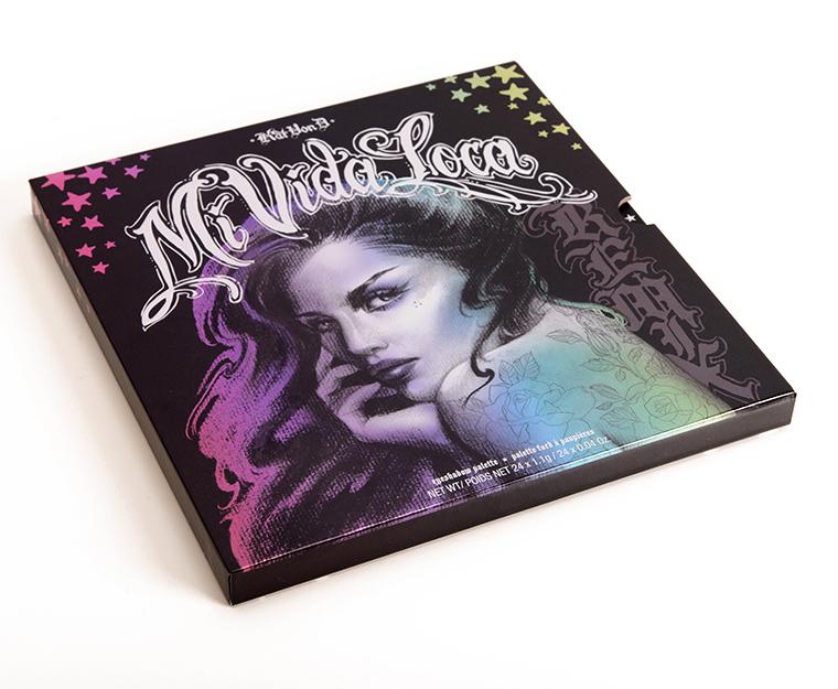 Kat Von D Mi Vida Loca Remix Eyeshadow Palette Review Photos Swatches