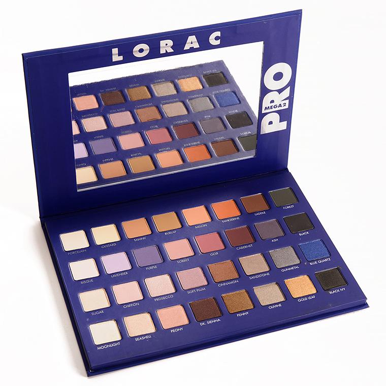 LORAC Mega Pro 2 Eyeshadow Palette