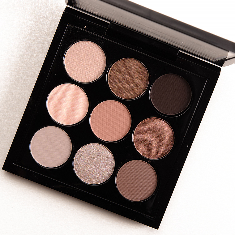 Mac Macnificent Eyeshadow Palette Review Photos Swatches