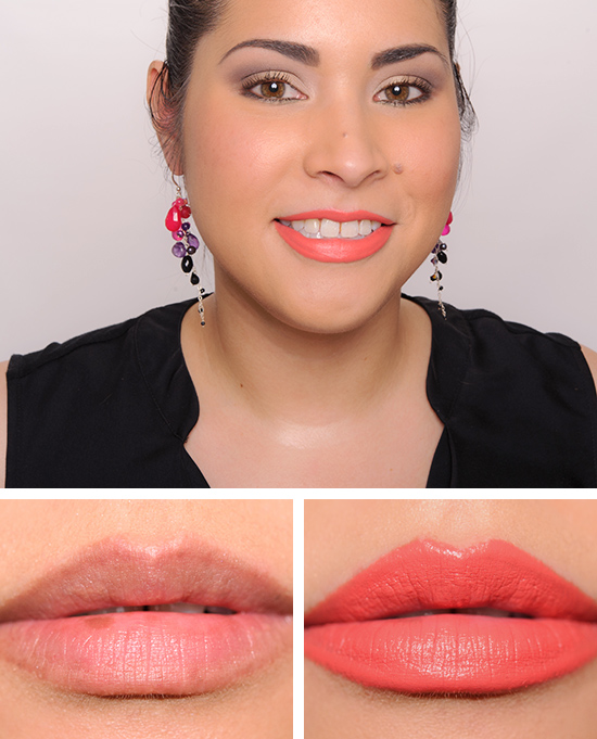 Super MAC Tropic Tonic Lipstick Review, Photos, Swatches JJ85
