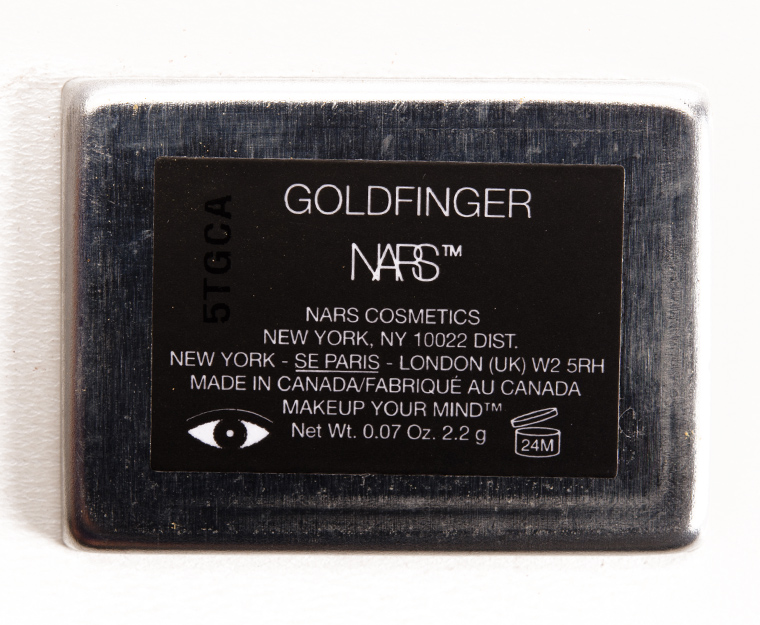 NARS Goldfinger Eyeshadow