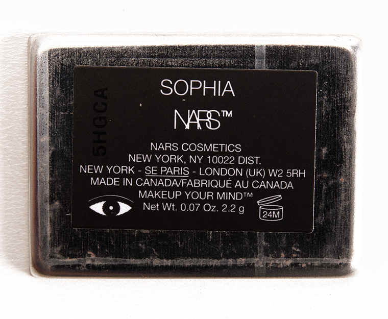 NARS Sophia Eyeshadow