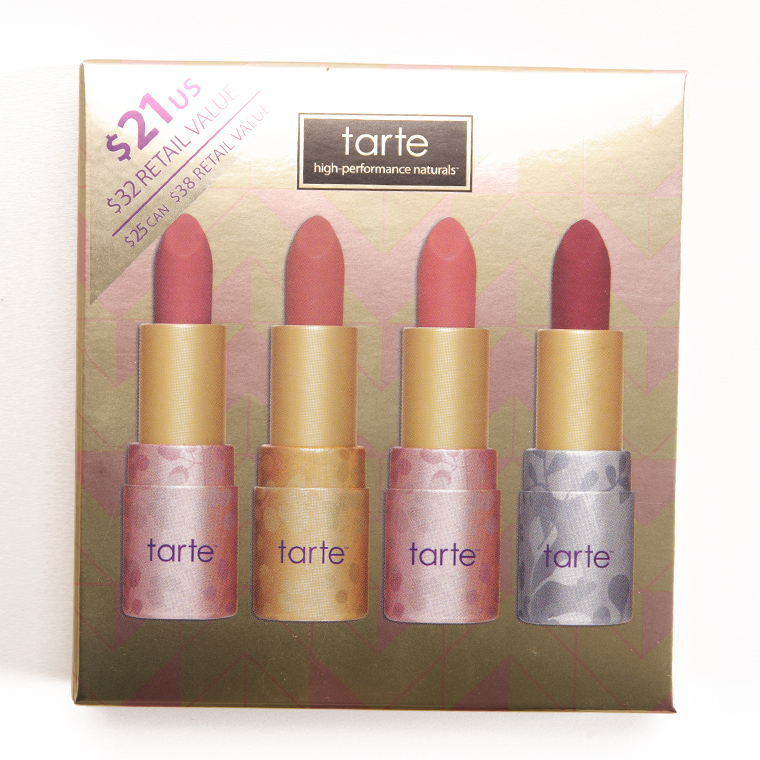 Tarte Deluxe Amazonian Butter Lipstick Set