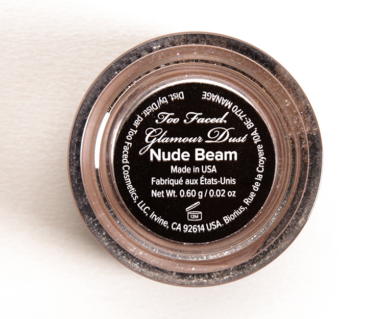 Too Faced Nude Beam Glamour Dust