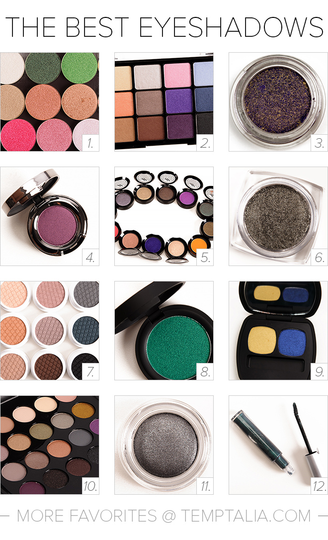 The Best Eyeshadows for Your Holiday Wish List (2015 Edition)