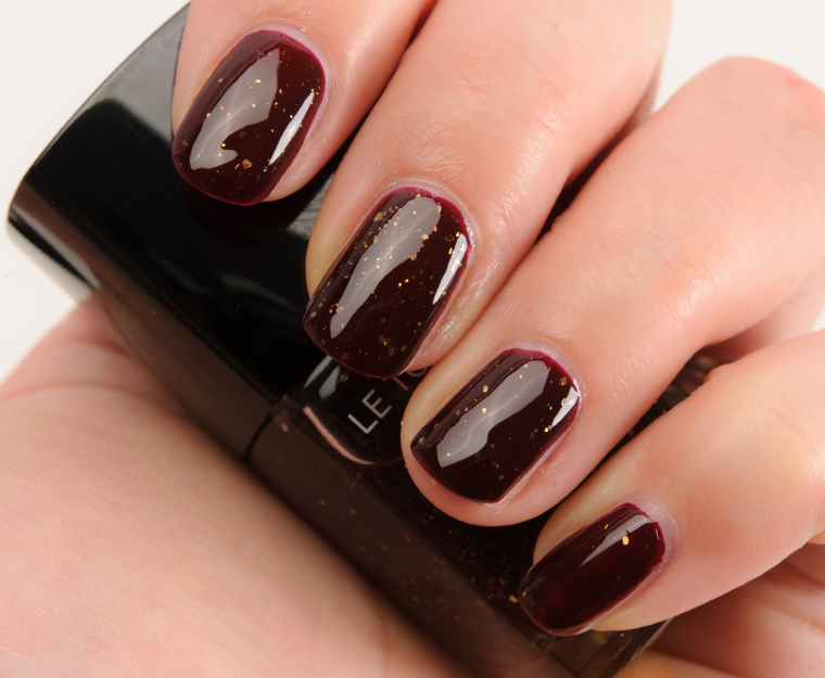 Chanel Lame Rouge Noir Le Top Coat