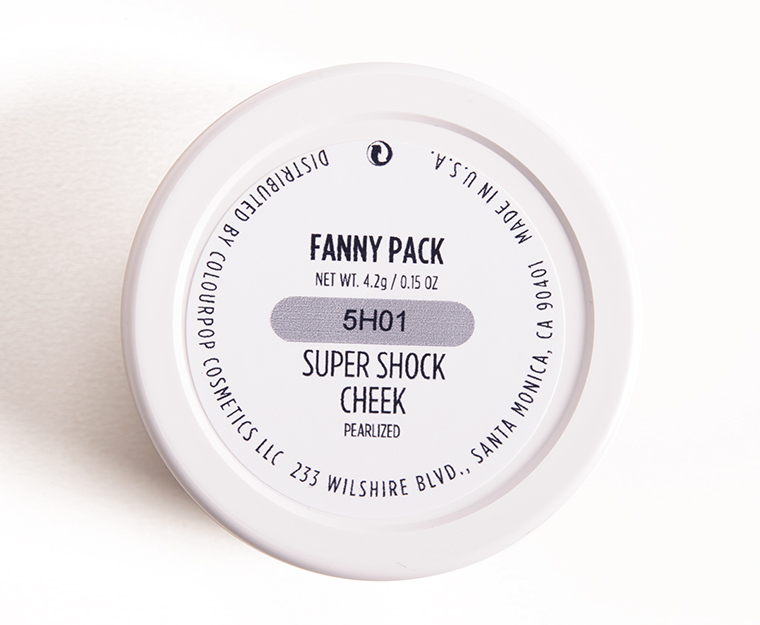 ColourPop Fanny Pack Super Shock Cheek