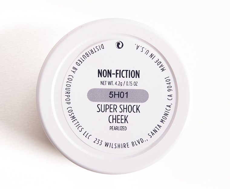 ColourPop Non-Fiction Super Shock Cheek