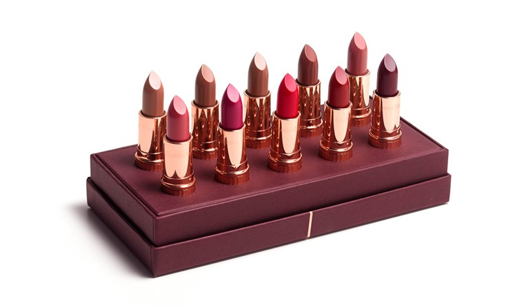 Charlotte Tilbury K.I.S.S.I.N.G. Luxury Lipstick Wardrobe for Holiday 2015