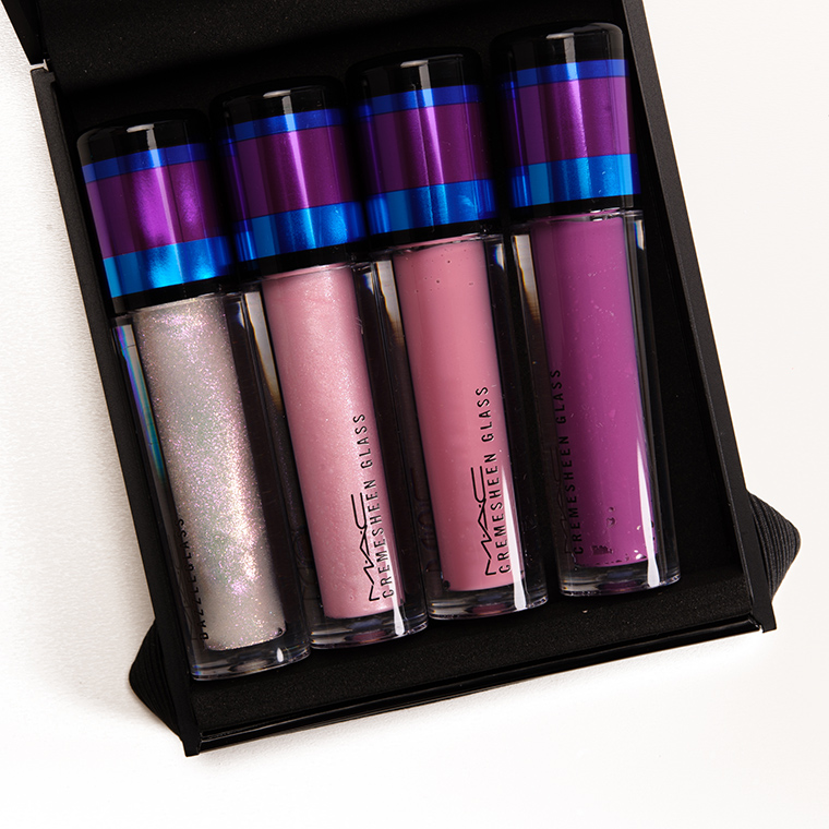 MAC Irresistibly Charming/Pink Lipgloss Set