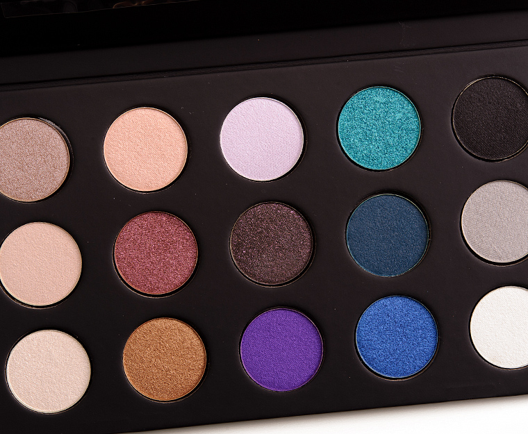 Make Up For Ever 15 Artist Shadow Palette Review, Photos, Swatches