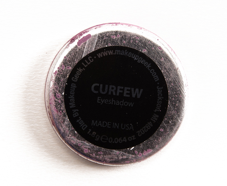 Makeup Geek Curfew Eyeshadow