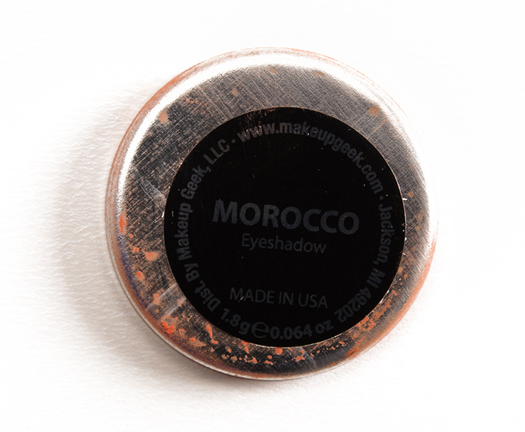 Makeup Geek Morocco Eyeshadow