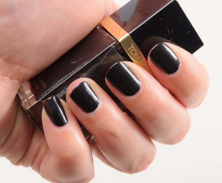 Tom Ford Black Out Nail Lacquer Review, Photos, Swatches