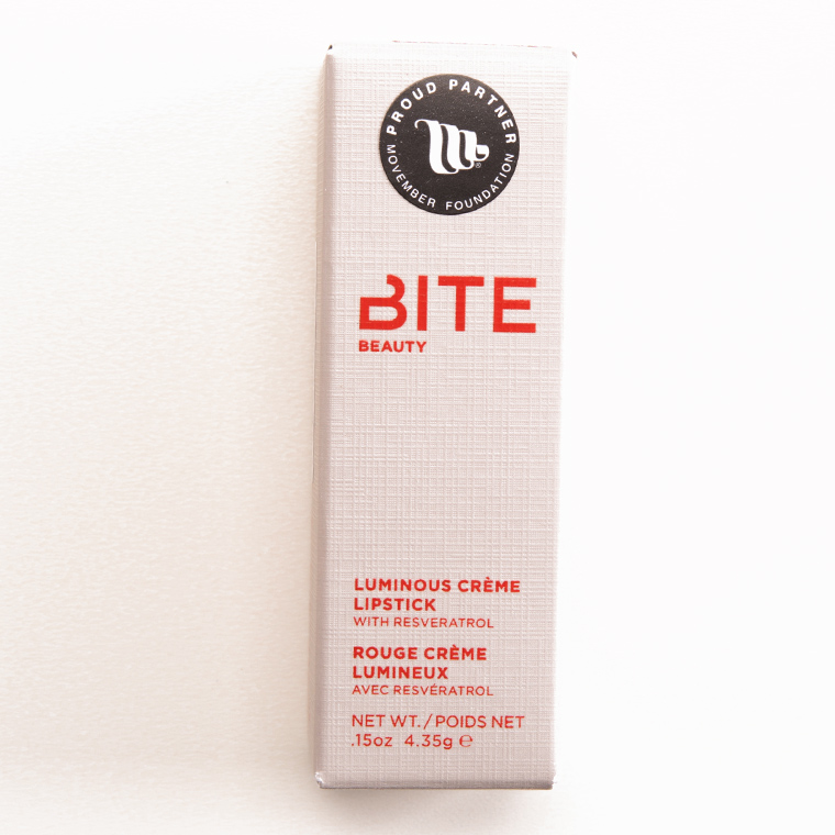 Bite Beauty Mauvember Luminous Creme Lipstick