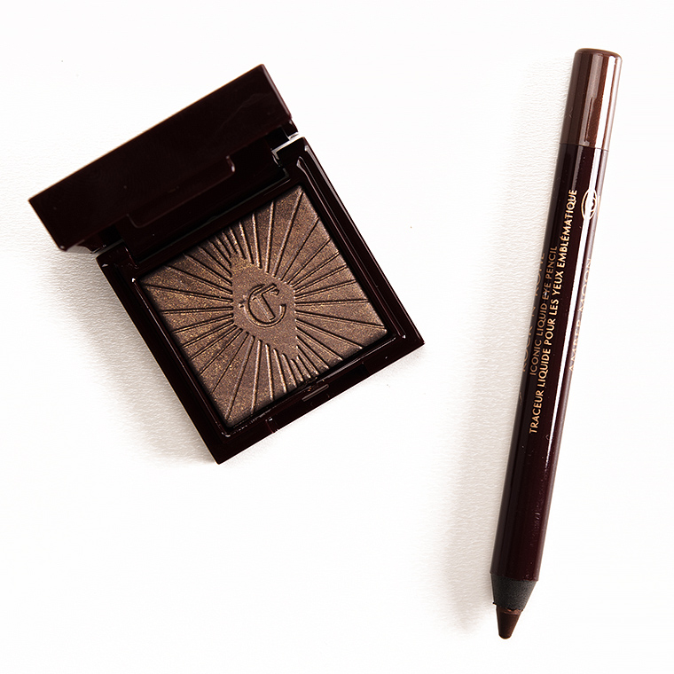 Charlotte Tilbury The Huntress + Amber Moon Nocturnal Cat Eyes to Hypnotise