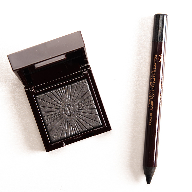 Charlotte Tilbury Silver Leopard + Black Magic Nocturnal Cat Eyes to Hypnotise