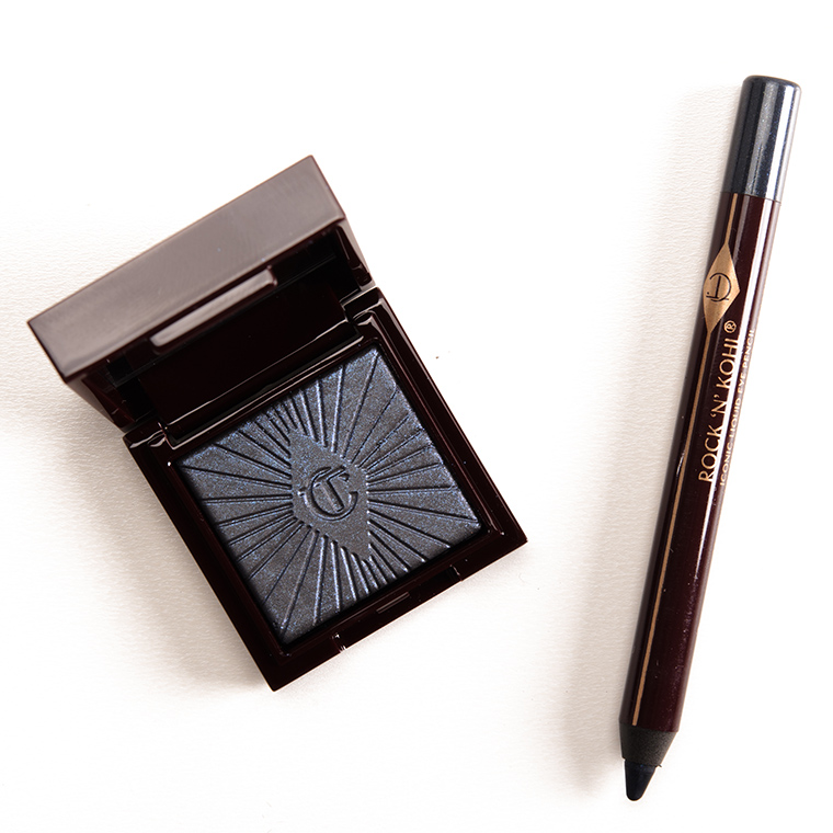 Charlotte Tilbury Midnight Seduction + Sapphire Sex Nocturnal Cat Eyes to Hypnotise