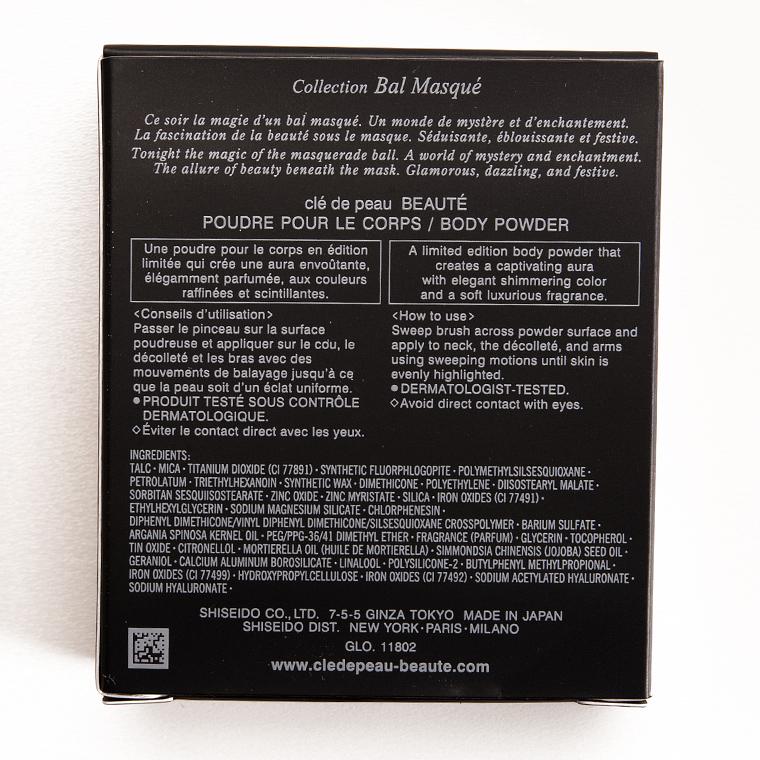 Cle de Peau Bal Masque Body Powder