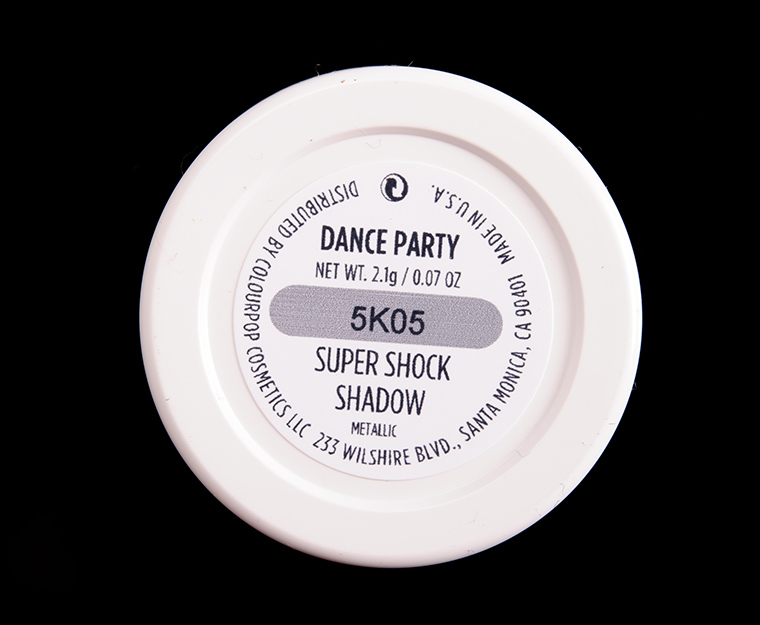 ColourPop Dance Party Super Shock Shadow