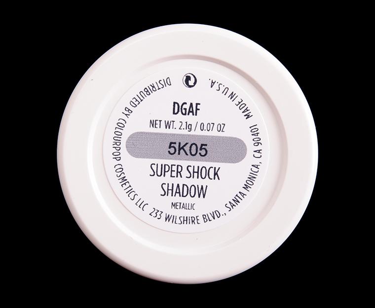 ColourPop DGAF Super Shock Shadow