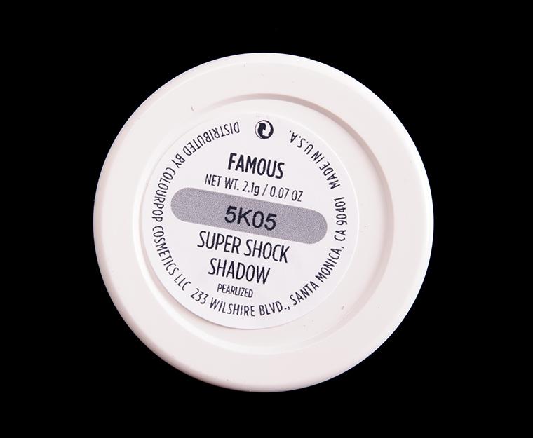 ColourPop Famous Super Shock Shadow
