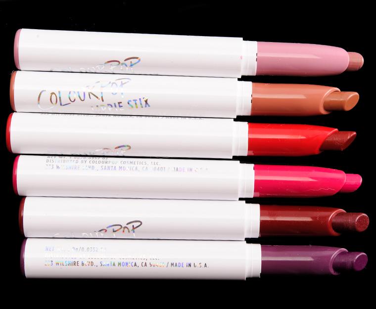 Colour Pop Vixen Lippie Stix Set