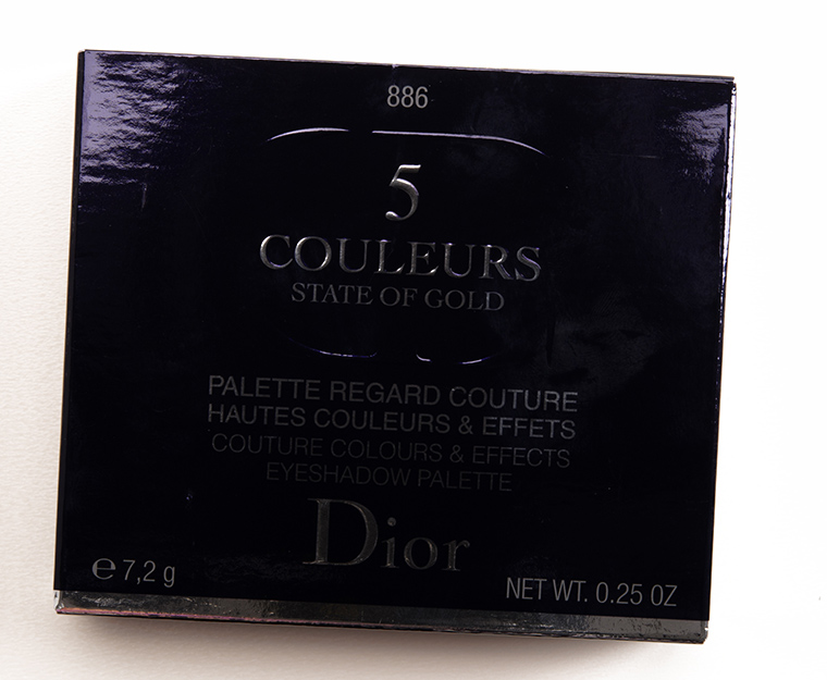Dior Blazing Gold (886) Eyeshadow Palette