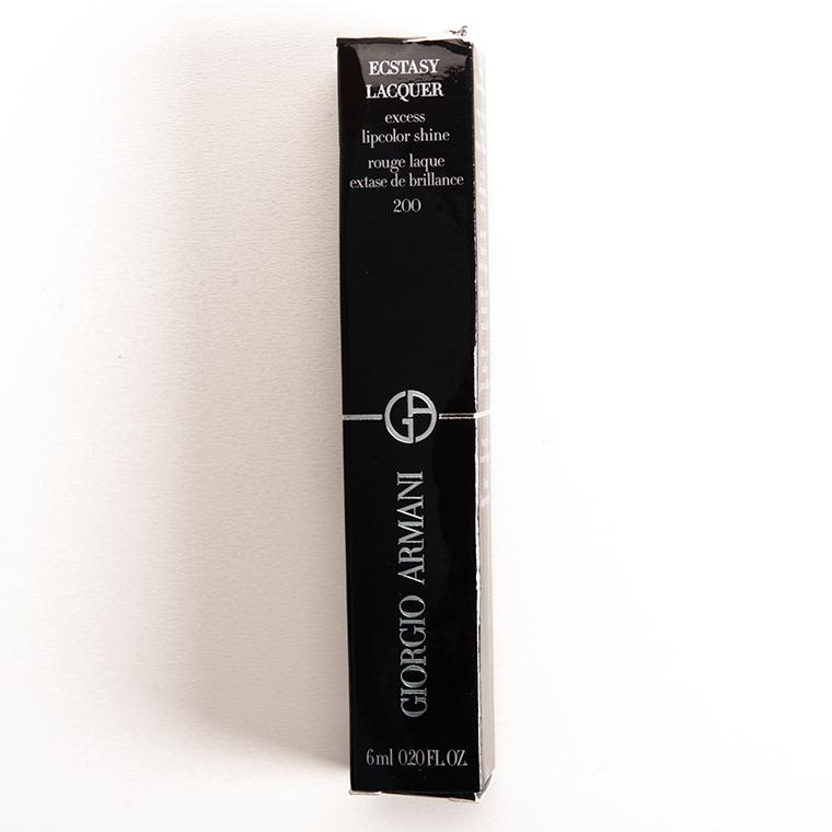 Giorgio Armani #200 Night Berry Ecstasy Lacquer