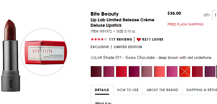 Bite Beauty Lip Lab Limited Edition Release