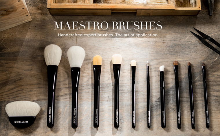 Giorgio Armani Maestro Brushes
