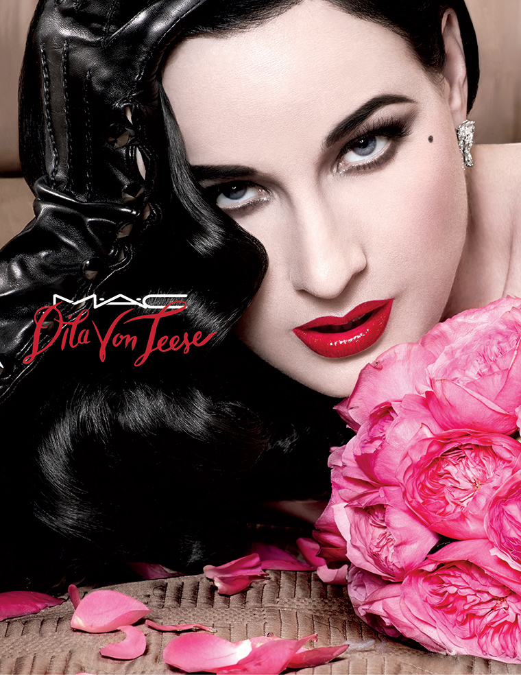 MAC x Dita Von Teese Lipstick for December 2015