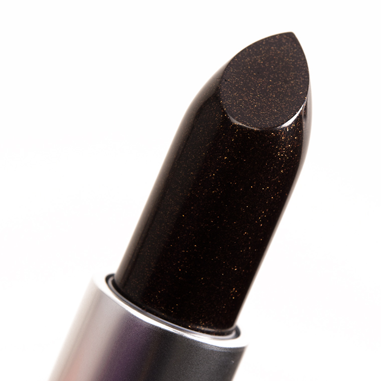 MAC Black Night Lipstick
