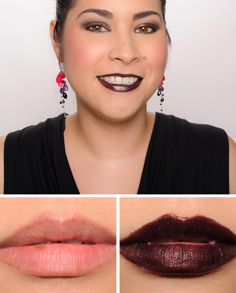 MAC Black Night Lipstick
