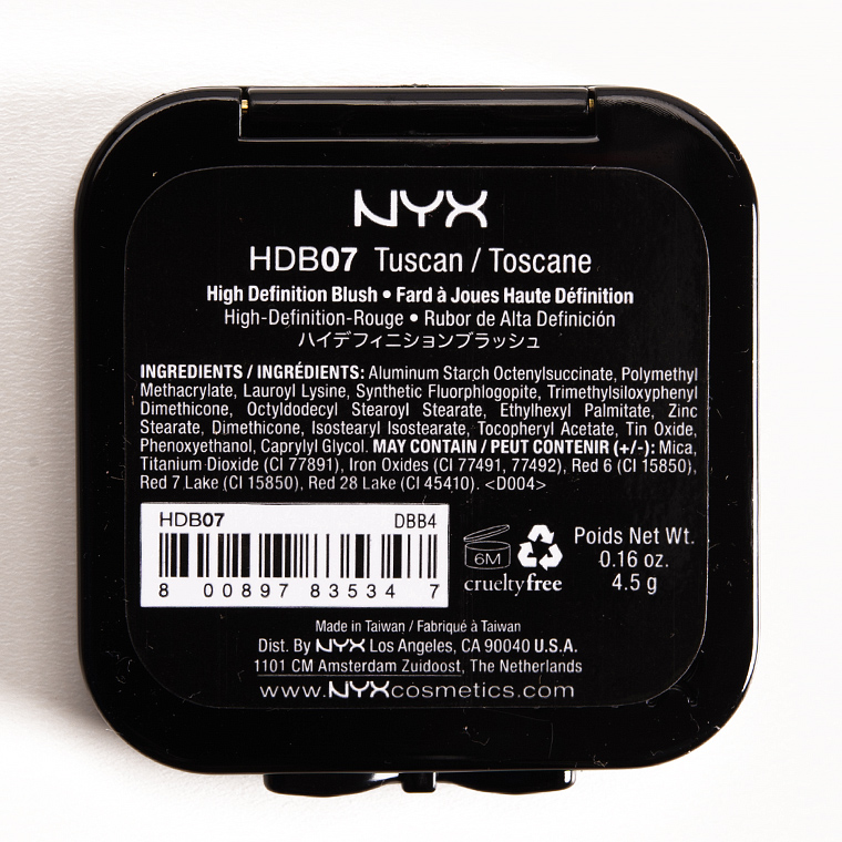 NYX Tuscan (07) HD Blush