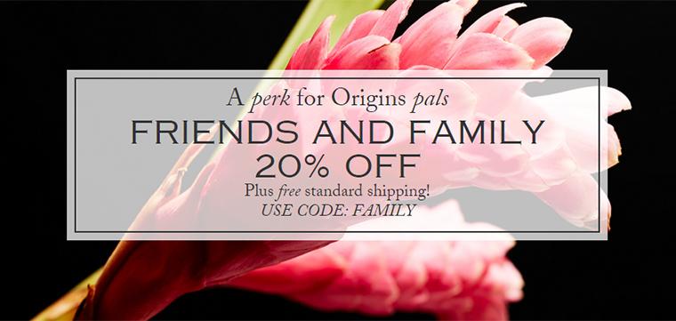 Origins Friends & Family