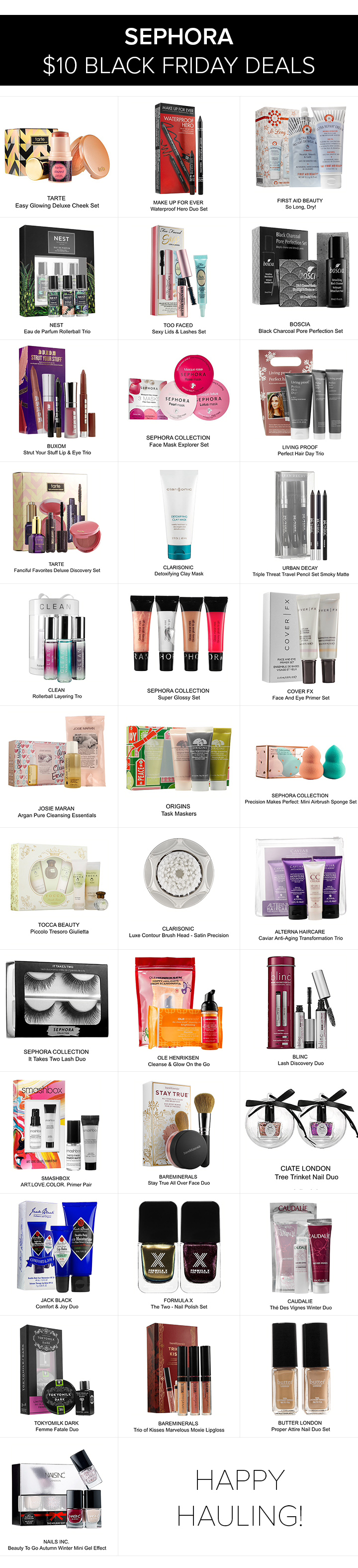 Sephora $10 Black Friday Deals (2015)