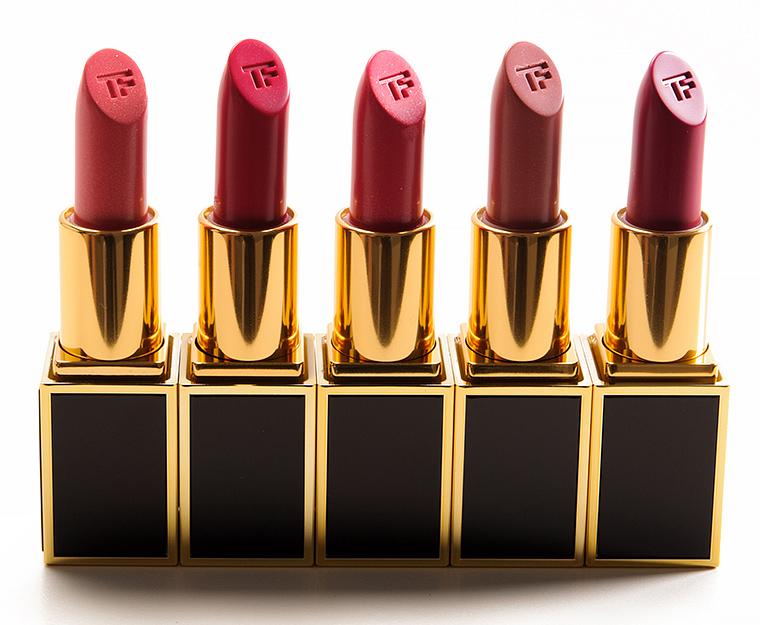 Tom Ford Ansel, Alex, Rocco, Austin, Kingston Lips & Boys Lip Color