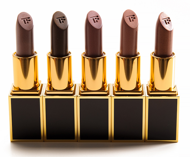 Tom Ford Vladimir, Roman, Egon, Eddie, Derek Lips & Boys Lip Colors