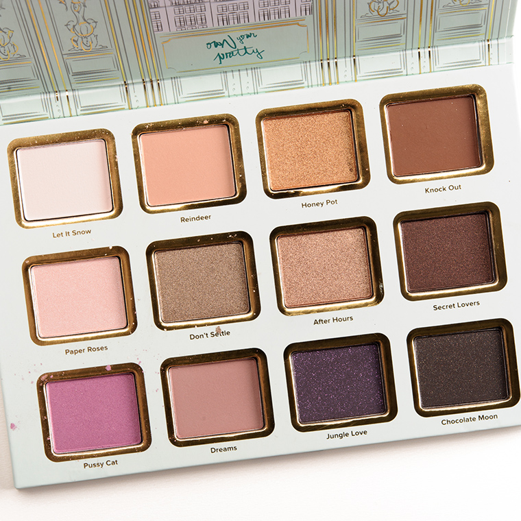 Too faced la petite maison eyeshadow palette review for A la maison lotion