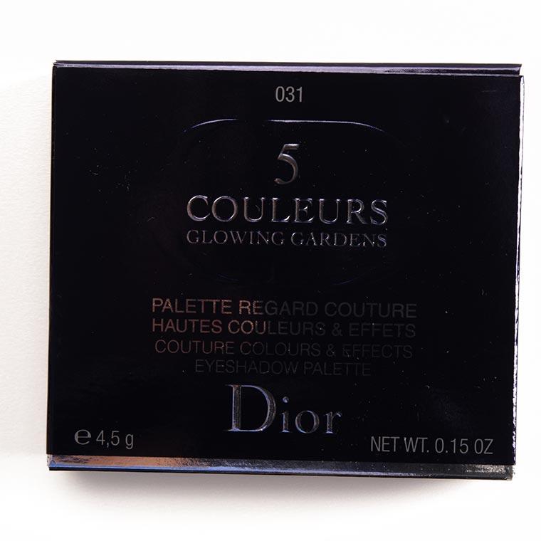 Dior Blue Garden (031) Eyeshadow Palette