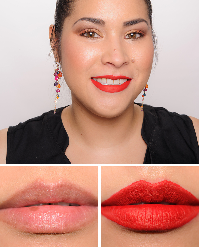 Mac Fashion Legacy Mademoiselle To Matte With Love Matte Liquid Lipsticks Reviews Photos Swatches