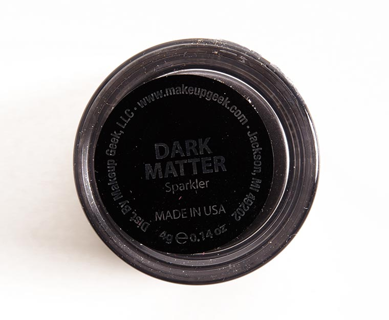 Makeup Geek Dark Matter Sparklers