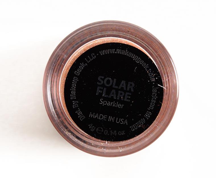 Makeup Geek Solar Flare Sparklers