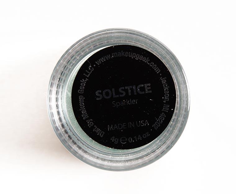 Makeup Geek Solstice  Sparklers
