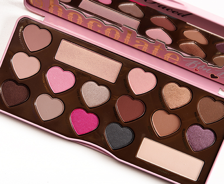 Too Faced Chocolate Bon Bons Eyeshadow Palette Review, Photos ...