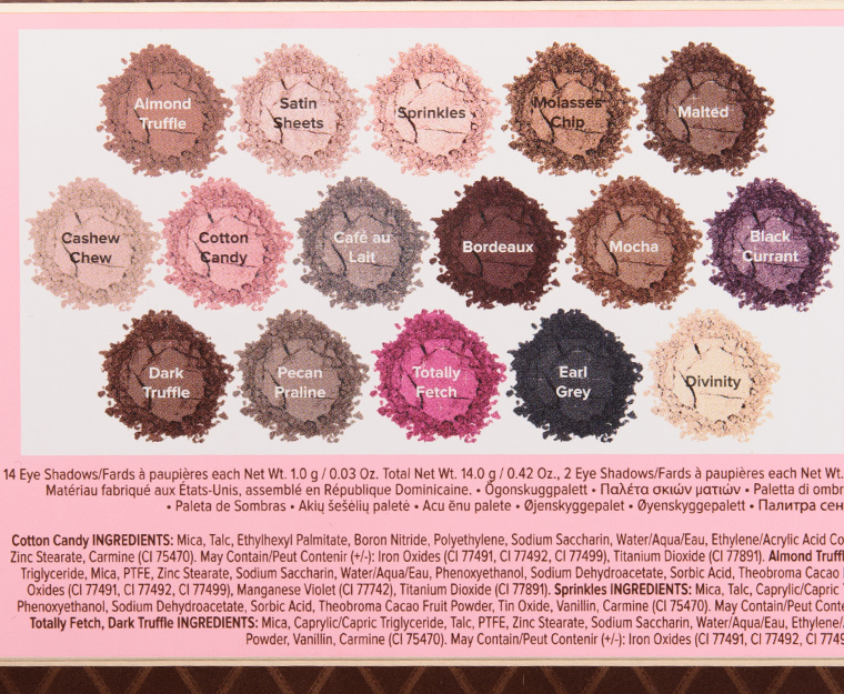 Too Faced Chocolate Bon Bons Eyeshadow Palette
