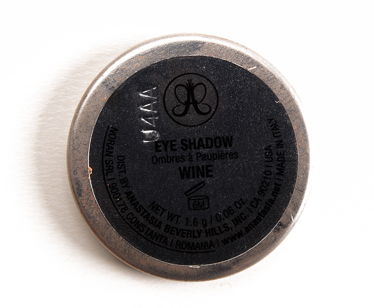 Anastasia Wine Eyeshadow