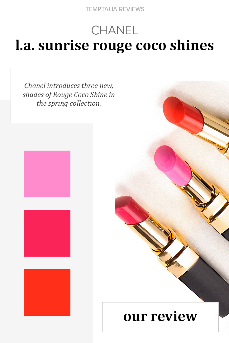 Chanel LA Sunrise Rouge Coco Shines