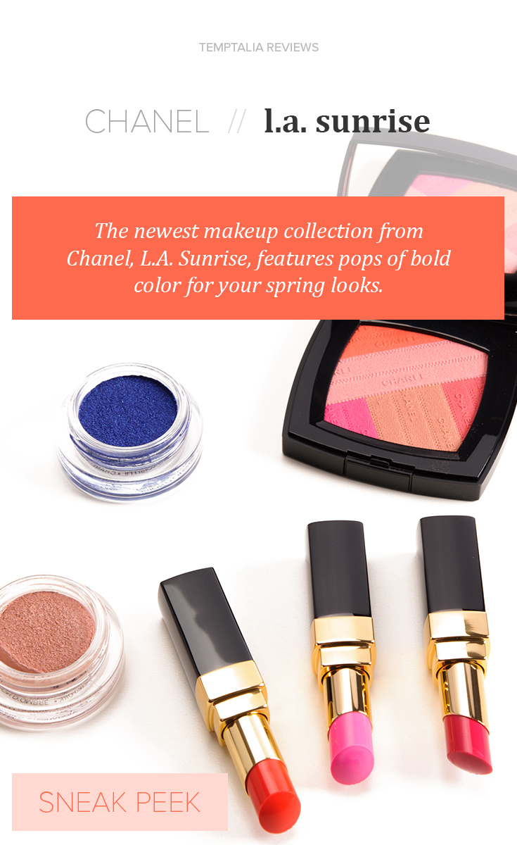 Chanel LA Sunrise Collection